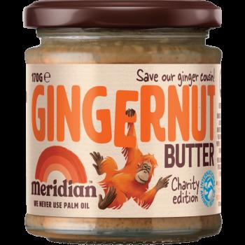 Gingernut butter - Arašídový krém se zázvorem 170g