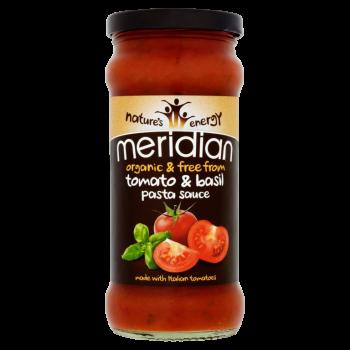 Bio omáčka s rajčaty a bazalkou 350g