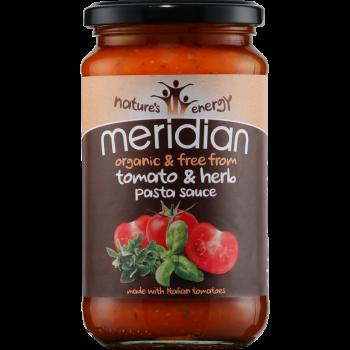 Bio omáčka s rajčaty a bylinkami 440g