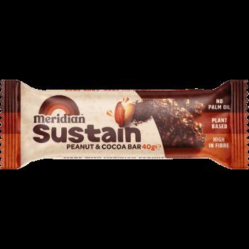 Peanut & Cocoa bar - arašídová tyčinka s kakaem 40g