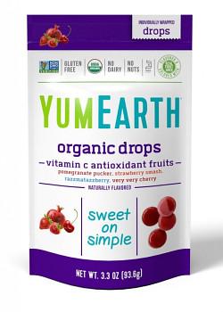 Ovocné tvrdé bonbony antioxidant Bio 93,6g